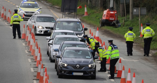 'Hundreds' of rolling checkpoints and community patrols - Gardaí to roll out high visibility operation for Level 5