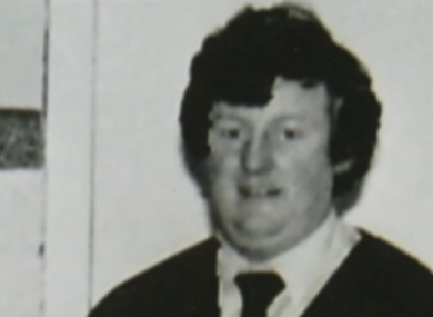 File photo from 1980s of convicted paedophile Bill Kenneally.
