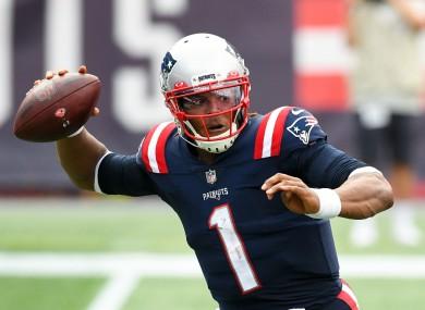 Patriots quarterback Cam Newton has tested positive for the virus.