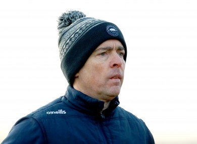 Longford senior football manager Padraic Davis.