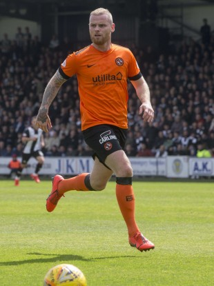 Mark Connolly of Dundee United.