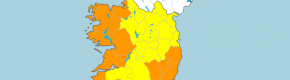 Storm Aiden: Orange wind warning for 12 counties tomorrow with gusts of up to 130km expected