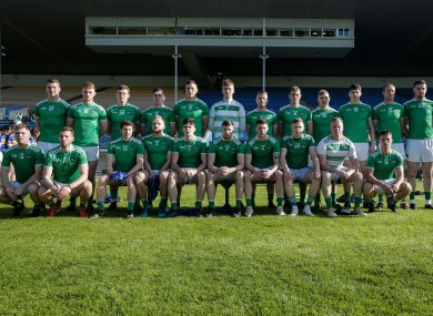 Limerick footballers (file photo) celebrated league promotion today.