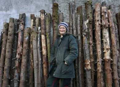 Jones pictured at her home in Kealkill, West Cork earlier this year.