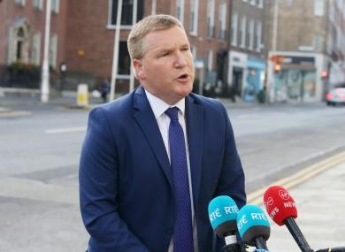 Minister Michael McGrath (file photo)