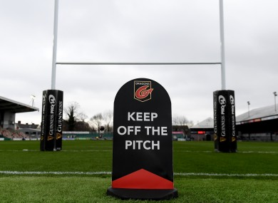 Connacht's game against Dragons at Rodney Parade has been postponed.