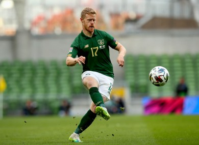 Daryl Horgan was recently recalled to the Ireland squad after a period out.