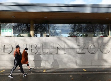 €1.1 million will be allocated to the two biggest zoos in the country