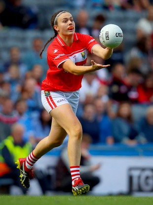 Hannah Looney is one of five players involved in both the Cork camogie and ladies football panels.