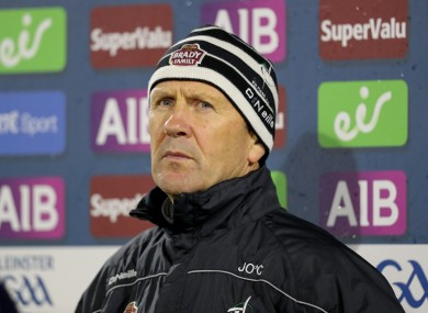 Kildare senior football manager Jack O'Connor.