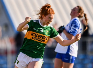Kerry's Louise Ni Mhuireachtaigh starred for Kerry today (file pic).
