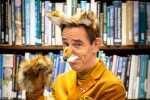 RTÉ presenter Ryan Tubridy dressed as the Roald Dahl character 'Mr Fox'.