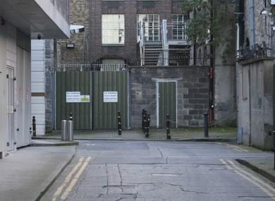 Leinster Lane in Dublin city today.