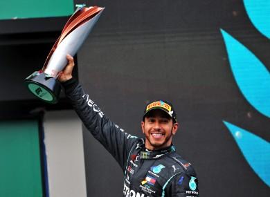 Mercedes AMG F1's Lewis Hamilton (file pic).