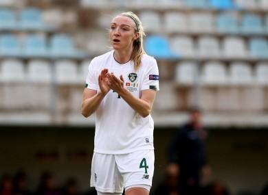 Ireland defender Louise Quinn.
