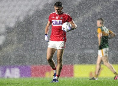 Mark Collins is a key figure in the Cork football cause.