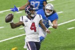 DeShaun Watson in possession for the Texans.