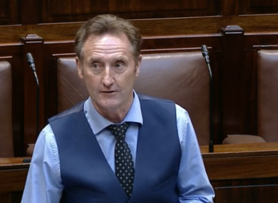 Fitzpatrick says he was speaking as a former member of the Defence Forces.