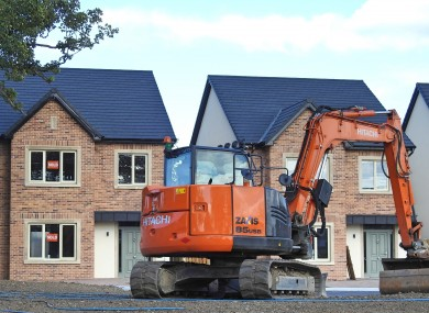 Houses being built in Meath.