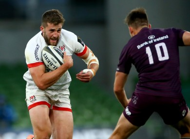 McCloskey hasn't played for Ulster since September.
