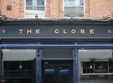 The Globe is located on Dublin's George's Street.