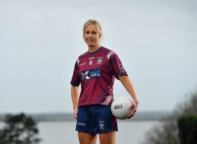 Westmeath captain Fiona Claffey.