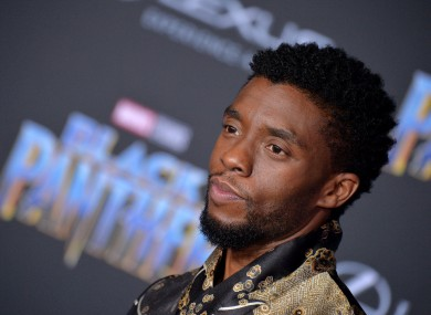 Chadwick Boseman attends the premiere of Black Panther in 2018.