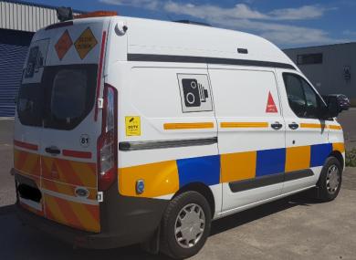 Image of GoSafe speed van.