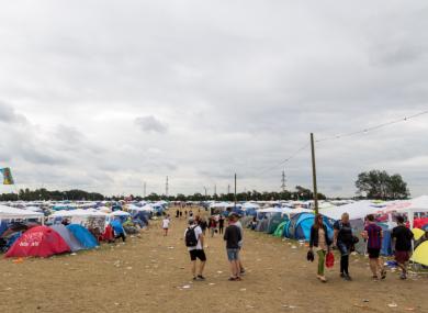 File image of a music festival in Denmark.