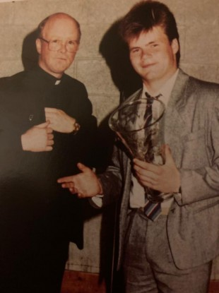 Farrell: St Vincent's pupil of the year, 1989.