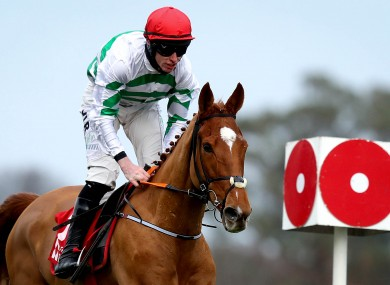 Jack Kennedy in action on St Stephen's Day at Leopardstown.