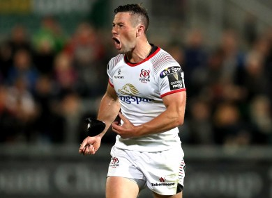 John Cooney has been in excellent form for Ulster.