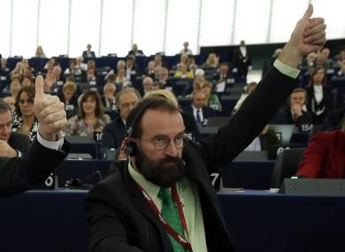 File image of Hungarian MEP Jozsef Szajer.