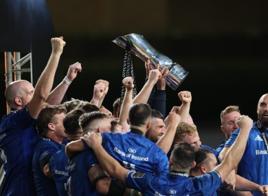 Leinster defended their Pro14 title last season.