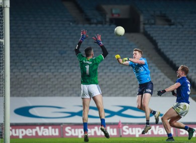 Robbie McDaid scores Dublin's goal as they stroll to another easy win.