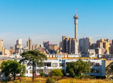 Downtown Johannesburg, South Africa