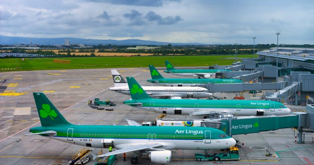 Flights and passenger ferries from Britain to Ireland suspended for 48 hours from midnight
