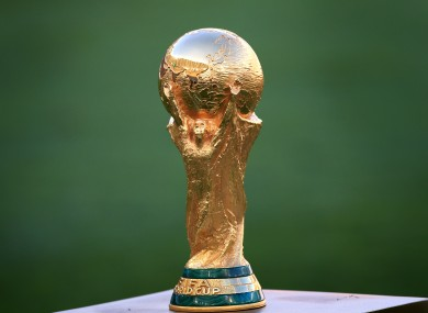 FIFA World Cup trophy.