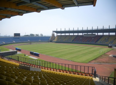 A general view of Si Jalak Harupat in Indonesia, one of the host stadiums for the U20 World Cup.