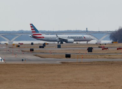 File photo - An American Airlines Boeing 737 Max 8 aircraft