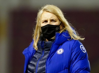Chelsea Women's manager Emma Hayes.