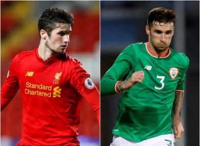 Corey Whelan represented Liverpool at U23 level and was capped by the Ireland U21s.