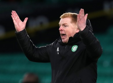 Celtic manager Neil Lennon.