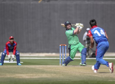 Record-breaking Paul Stirling's splendid century couldn't stop Afghanistan from sealing the ODI series.