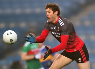 David Clarke in action for Mayo against Tipperary last December.