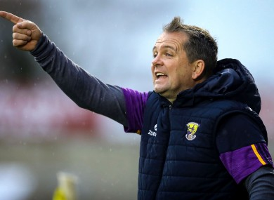 Davy Fitzgerald applauded his club for publicly showing their support for Fitzgerald and his father.