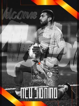 Dundalk have signed Alessio Abibi.