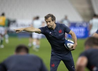 France coach Fabien Galtier.