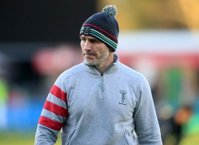 Paul Gustard during his spell with Quins.