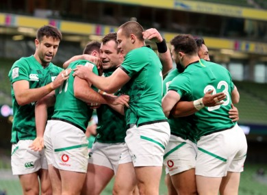 Ireland are due to kick-off against Wales on 7 February in Cardiff.